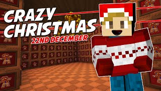 Minecraft - CRAZY CHRISTMAS [22] - GINGERBREAD HOUSE!