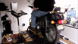 5. Dyno Test of Royal Enfield Bullet Motorcycle for HP Torque and Air Fuel Ratio