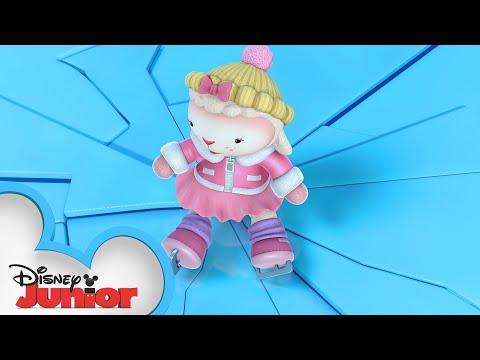 On Thin Ice ⛸️| Doc McStuffins Arctic Rescue | Disney Junior