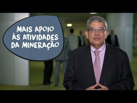 Marcus Pestana: mobilização para revitalizar a mineração