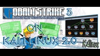 "Download and install cobalt strike 3 on kali linux 2.0How to download and install the last version of cobaltstrike on kali linux 2.0 kali sana and fix problem connection refused.#Download From : http://www.k4linux.com/2016/03/kali-linux-20-tutorials-cobalt-strike-3.html#Check Your Java Version :  java -version  Java 1.7 Work fine!# ""If you'd like more tutorials about kali linux 2.0, please subscribe to my channel to check out my upcoming videos"".Visit : k4linux.comLike : fb.com/k4linuxFollow : Twitter.com/k4linuxSuscribe & share for more videos.Thank's."
