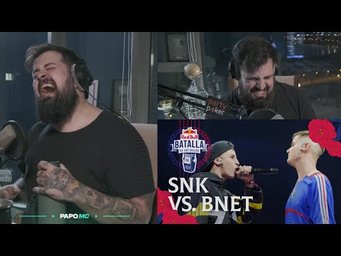 PAPO REACCIONA A BNET VS SNK *REACCION ÉPICA* - Red Bull Internacional 2019