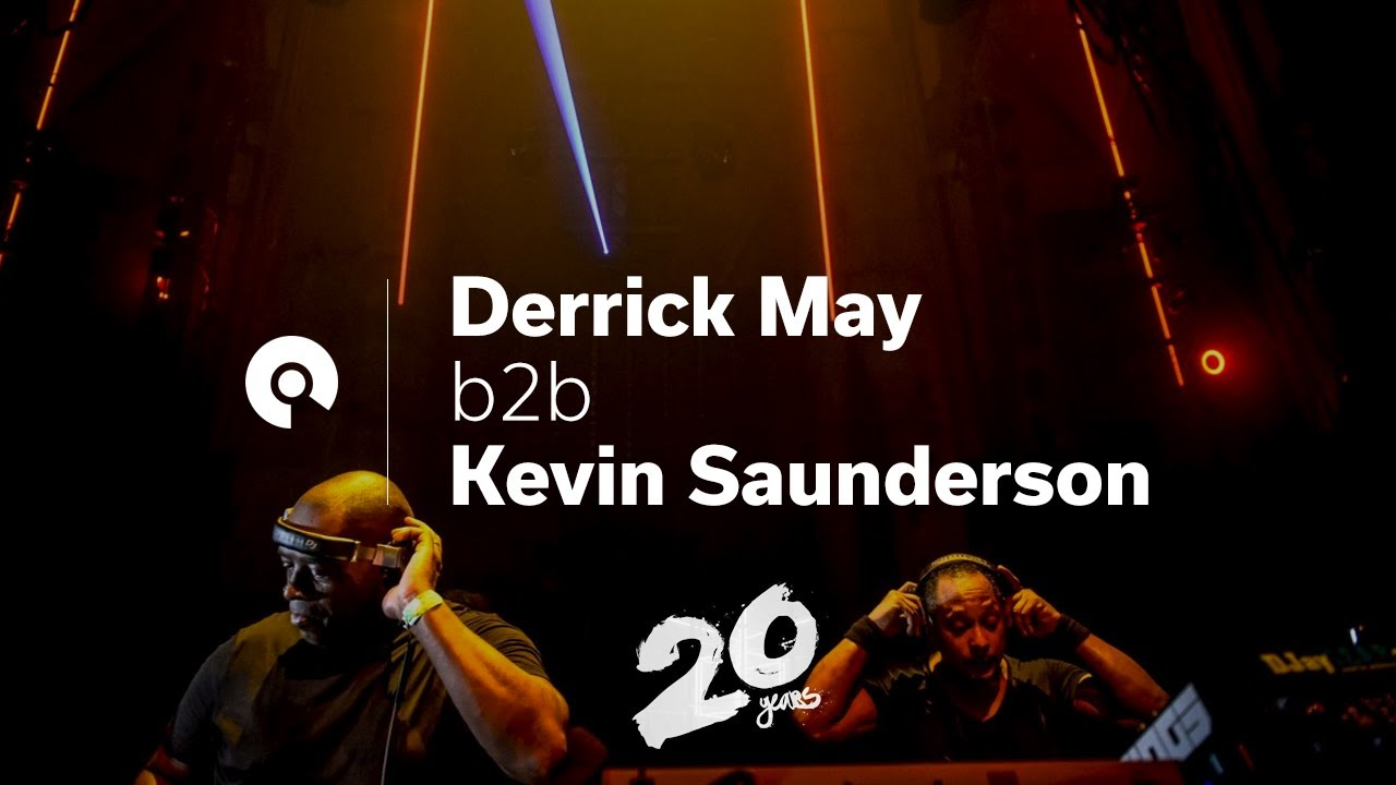 Kevin Saunderson & Derrick May - Live @ Awakenings 20 Year Anniversary 2017