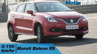 https://www.motorbeam.com compares the Maruti Baleno RS with the regular Baleno 1.2-litre petrol to highlight the difference ...