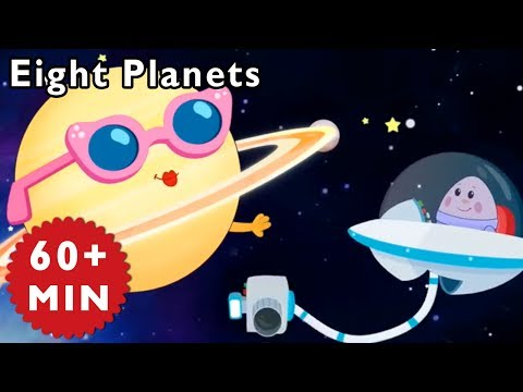 Learn Planets   ANIMATED EIGHT PLANETS SONG and more songs by Mother Goose Club   Songs for Kids