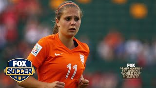 43rd Most Memorable Women's World Cup Moment: Lieke Martens for the Netherlands | FOX SOCCER by FOX Soccer