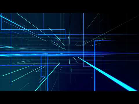 Abstract digital animated background || Geometry lines with dashes and glow||  By SUNARI VFX