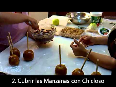 Manzanas de Chocolate