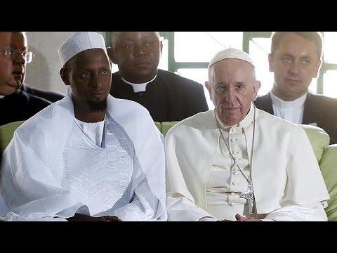 Ιστορική επίσκεψη του Πάπα Φραγκίσκου στην Κεντροαφρικανική Δημοκρατία