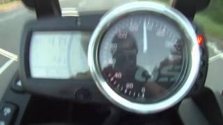 9. 0-100 kmh Acceleration Beschleunigung BMW G650GS