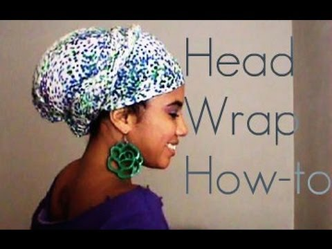 3 Simple Head Wrap Styles For Natural Hair