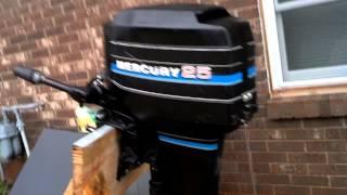1983 Mercury Outboard Motor 25 HP for sale on EBay