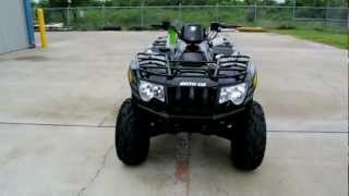 8. Overview: 2012 Arctic Cat 550I  in Black