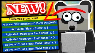 *NEW* BEE SWARM CODE, INSTANT 5x WEALTH CLOCK & MORE! | Roblox Bee Swarm Simulator