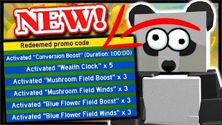*NEW* BEE SWARM CODE, INSTANT 5x WEALTH CLOCK & MORE! | Roblox Bee Swarm Simulator