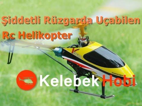RC Helikopter   Şiddetli Rüzgarda Uçabilen   Brushless Model