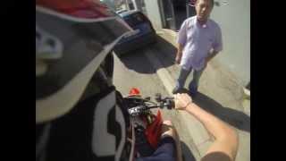 10. Driving to SRS Racing - Honda CR 125 R 2006