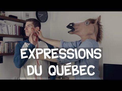 Déguisez vous en expression du Québec pour l'Halloween! - GaboomFilmsQC