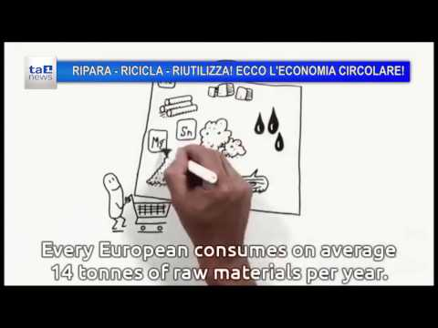 RIPARA-RICICLA-RIUTILIZZA: ECCO L' ECONOMIA CIRCOLARE!