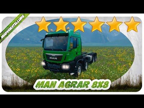 MAN AGRAR 8x8 v4.0