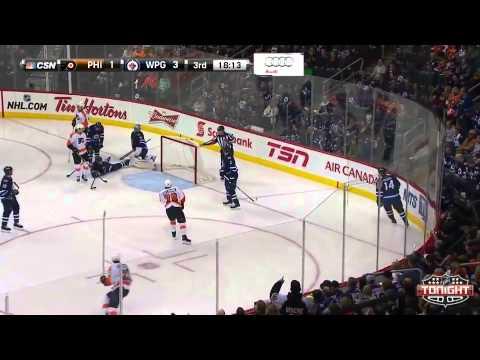 Game 33. Philadelphia Flyers vs Winnipeg Jets (21 december 2014)