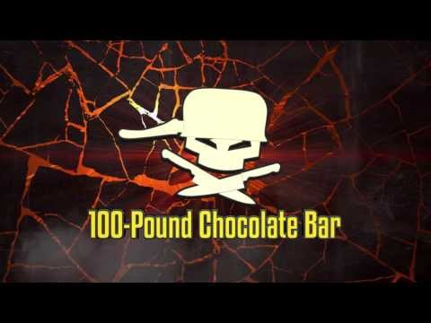 (S 100) - This ain't your regular corner store candy bar. We're dealing with 100 pounds of chocolate. NEW videos every week! SUBSCRIBE!!! Watch our new howto cooking s...