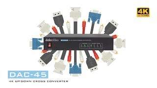5 Reasons Why You Need a DAC-45 4K Up Down Cross Converter