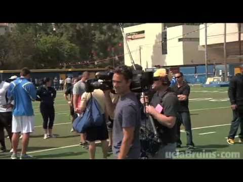 UCLA Football Hosts Pro Day