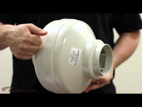 Product Overview: Fantech FR100 Inline Exhaust Fan