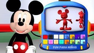 La casa de Mickey Mouse en español 🖤 Juego de Play Doh para niños