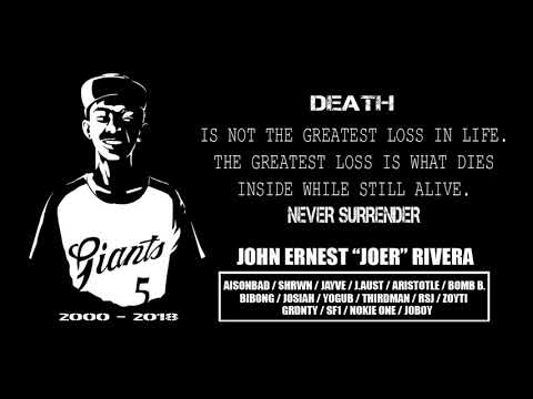 "Tribute John Ernest ""JOER"" Rivera (Alaala) - Batang Eureka / SNM"