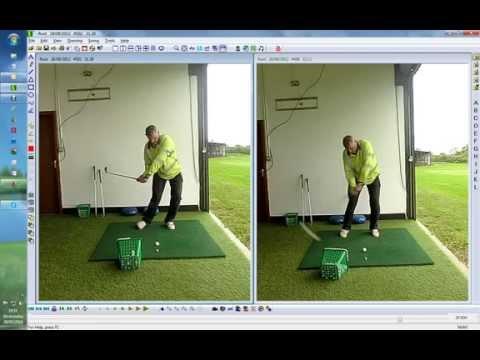 Live Golf Lesson Right ankle Drill #angleofattack #magicmove