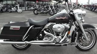 1. 610018 - 2002 Harley Davidson Road King   FLHR - Used motorcycles for sale