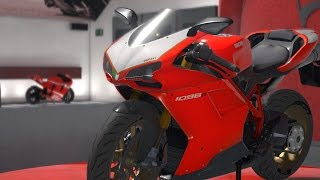 7. Ducati 1098R 2008 - DUCATI - 90th Anniversary - Test Ride Gameplay (PC HD) [1080p60FPS]