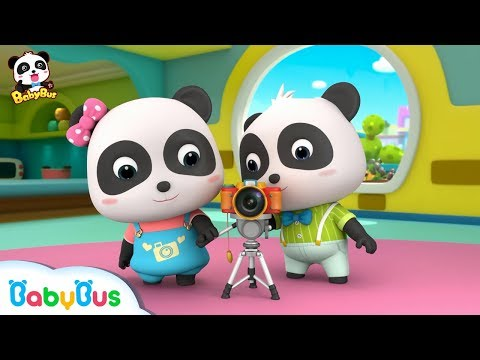 Panda Kiki Photographer | Baby Panda's Cooking Competition | Kids Role Play | BabyBus (видео)