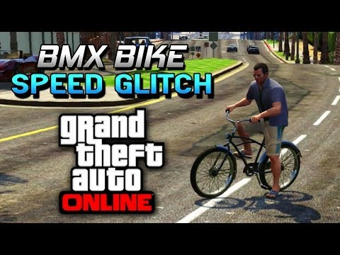 GTA 5 Glitches – Super Speed BMX Bike Stunts Trick – Easy Stunts On GTA 5 Online ! (GTA 5 Glitches)