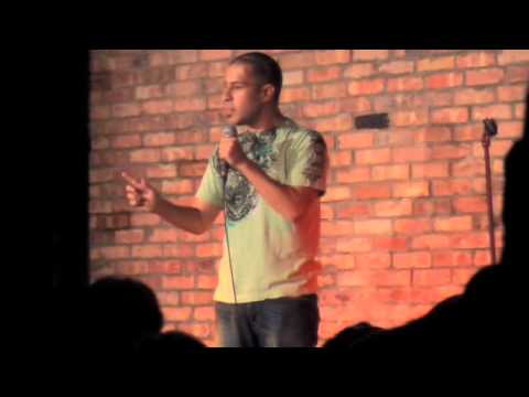 Khalid Kalwar Amateur Comedian at the Funny Bone Comedy Club!!