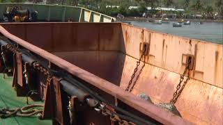 VIDEO (AVANZADA DRAGADO DE LA BAHÍA… 1.30) La primera de dos embarcaciones especializadas para recepcionar y...
