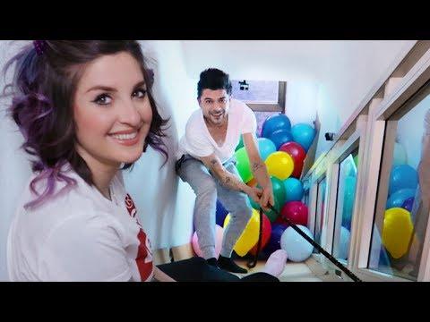 SCIVOLO GIGANTE IN CASA [BIG slide indoor] (видео)