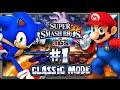 Super Smash Bros 3DS - (1080p) Part 1 - Classic Mode w/Sonic & Giveaway