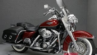 1. 2007  HARLEY DAVIDSON  FLHRC ROAD KING CLASSIC  - National Powersports Distributors
