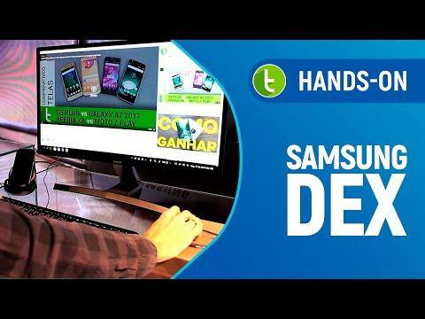 Samsung DeX: hands-on e primeiras impressões  Vídeo do TudoCelular