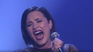 Video Demi Lovato | REAL VOICE (WITHOUT AUTO-TUNE) MP3, 3GP, MP4, WEBM, AVI, FLV April 2018