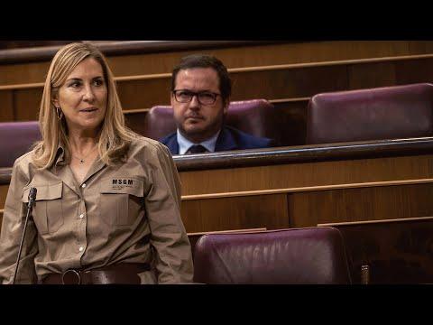 """Ana Beltrán a Marlaska: """"No cierre la puerta al salir, porque detrás de usted irá todo el Gobierno"""""""