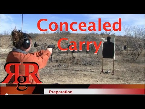Concealed Carry Course Shooting Prep – Multiple Guns