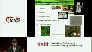 ICAPS 2013: Cindy Wang (Best Dissertation Award) - Scalable Cooperative Multi Agent Pathfinding with