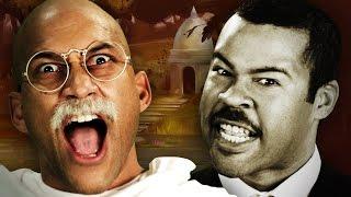[ERB Remix] Gandhi vs Martin Luther King Jr