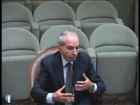 Intervento di Giuliano Amato - parte I [4/8]