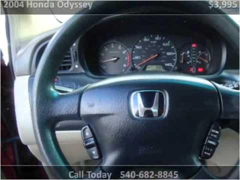 2004 Honda Odyssey Used Cars Roanoke VA