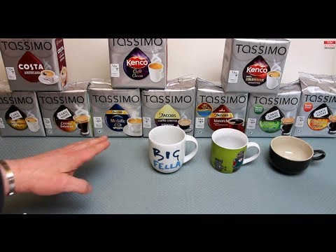 Tassimo Coffee Taste Test & Review Of Seven Different 'Internet Exclusive' Coffees